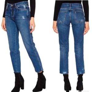 FREE PEOPLE Boyfriend Distressed Jeans 26